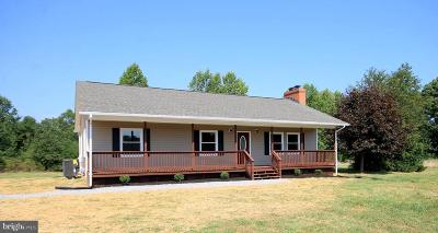 Spotsylvania Single Family Home For Sale: 11059 Post Oak Road