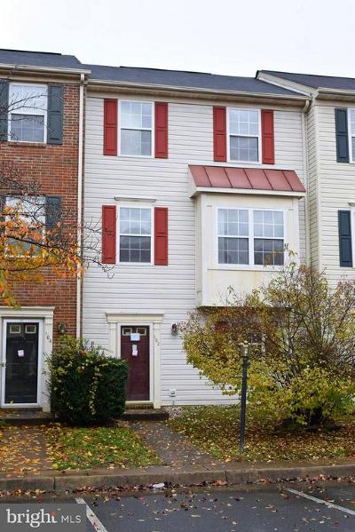 Stafford County Townhouse For Sale: 102 Raquel Court
