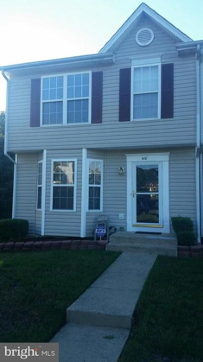 Stafford County Townhouse For Sale: 410 Torbert Loop