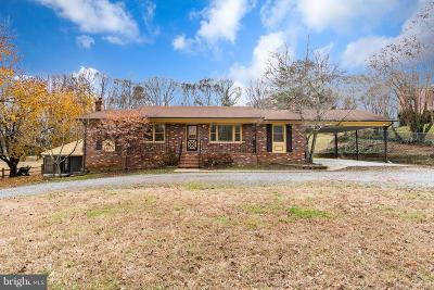 Fredericksburg Single Family Home For Sale: 348 Chapel Green Road