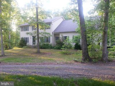 Fredericksburg VA Single Family Home For Sale: $525,000