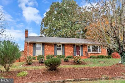 Fredericksburg Single Family Home For Sale: 600 Fagan Drive