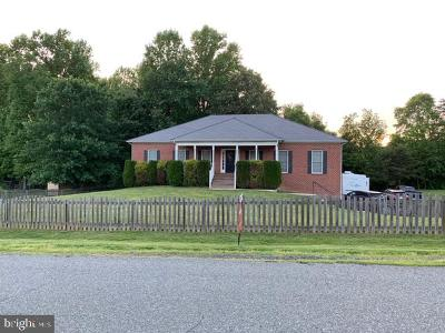 Fredericksburg City, Stafford County Single Family Home For Sale: 24 Pinto Lane
