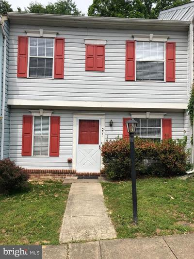 Stafford Townhouse For Sale: 205 Wind Ridge Drive
