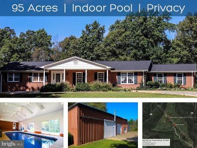 Fredericksburg Single Family Home For Sale: 130 Daisy Hill Lane