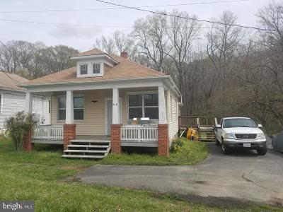 Fredericksburg VA Single Family Home For Sale: $200,000