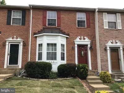 Stafford Townhouse For Sale: 803 Twin Brook Lane