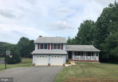 Fredericksburg Single Family Home For Sale: 2151 Sebastian Road