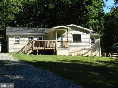 Fredericksburg Single Family Home For Sale: 55 Hall Lane