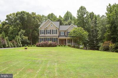 Stafford County, Caroline County, King George County, Culpeper County, Orange County Single Family Home For Sale: 25 Gibson Drive
