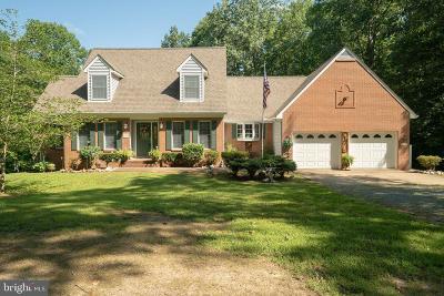 Fredericksburg City, Stafford County Single Family Home For Sale: #6 Rappahannock Drive