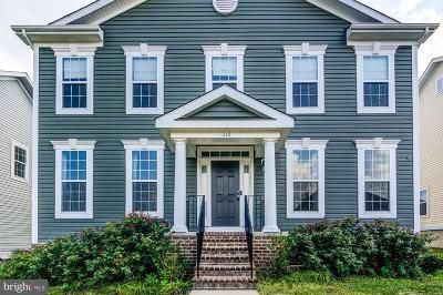 Fredericksburg City, Stafford County Single Family Home For Sale: 216 Pear Blossom Road