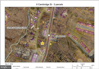 Fredericksburg Residential Lots & Land For Sale: Cambridge St