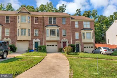 Stafford County Townhouse For Sale: 609 Twin Brook Lane