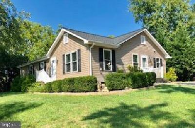 Stafford County Single Family Home For Sale: 169 White Oak Road