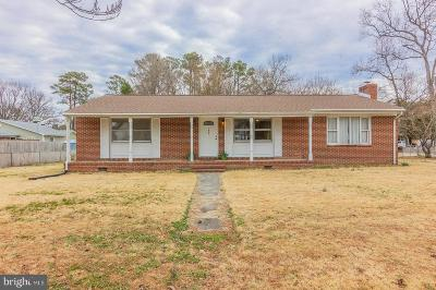 Colonial Beach Single Family Home For Sale: 1501 Dwight Avenue