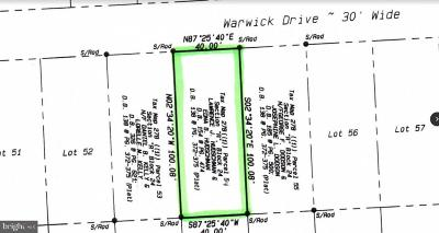 Hague Residential Lots & Land For Sale: Warwick Dr