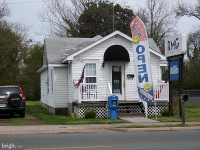 Colonial Beach Commercial For Sale: 509 Colonial Avenue