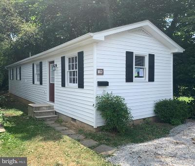 Winchester Single Family Home For Sale: 19 W Hart Street
