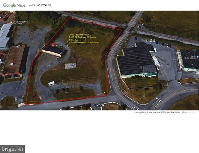 Commercial Lease For Lease: 2609 Papermill Road