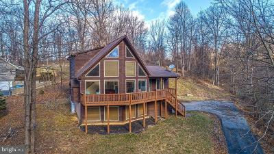 Front Royal Single Family Home For Sale: 629 High Knob Road