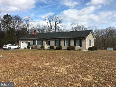 Single Family Home For Sale: 252 Messick Road