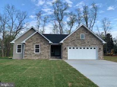 Front Royal Single Family Home For Sale: 506 Hamilton Circle