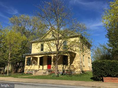 Front Royal Single Family Home For Sale: 214 Lee Street