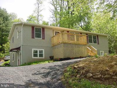 Front Royal Single Family Home Active Under Contract: 4181 Remount Road