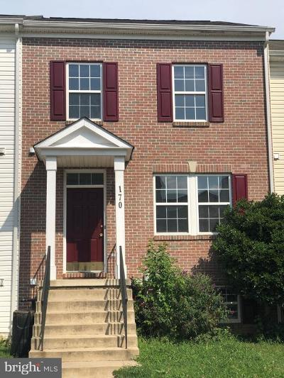 Charles Town Townhouse For Sale: 170 Dunlap Drive