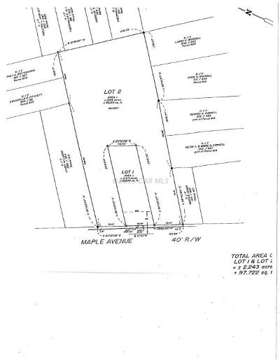 Berlin Residential Lots & Land For Sale: Maple Ave
