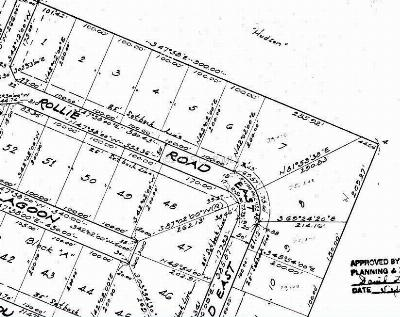 Bishopville Residential Lots & Land For Sale: Rollie Road East Rd