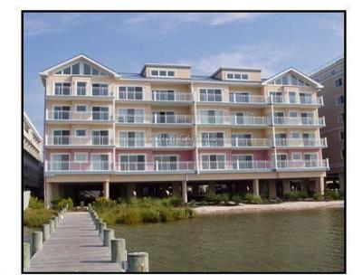 Ocean City Condo/Townhouse For Sale: 4603 Coastal Hwy #406