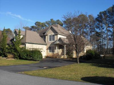 Ocean City Single Family Home For Sale: 10109 Queens Cir