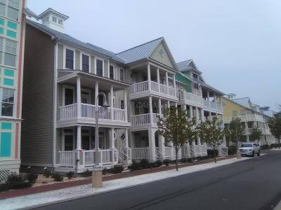Ocean City Condo/Townhouse For Sale: 3 W Fountain Dr #3k
