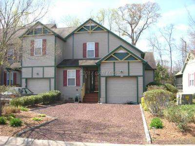 Ocean Pines Condo/Townhouse For Sale: 252 Mumfords Ld Road North Rd