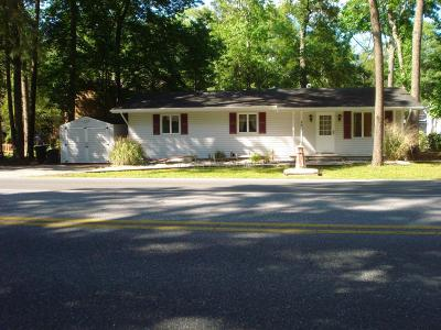 Ocean Pines Single Family Home For Sale: 289 Ocean Pkwy