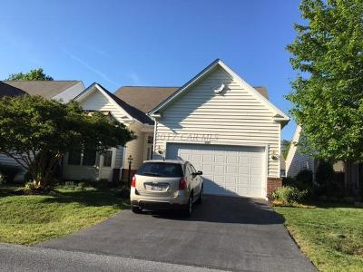 Ocean Pines Single Family Home For Sale: 11527 Manklin Creek Rd