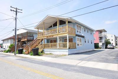 Ocean City Condo/Townhouse For Sale: 8 78th St #1, 2, 3,