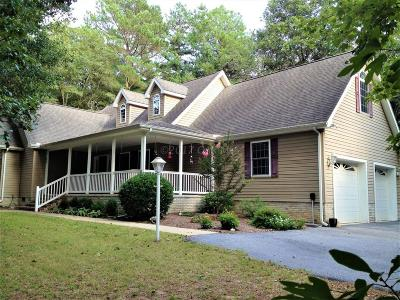Snow Hill Single Family Home For Sale: 6601 Pitch Pine Dr