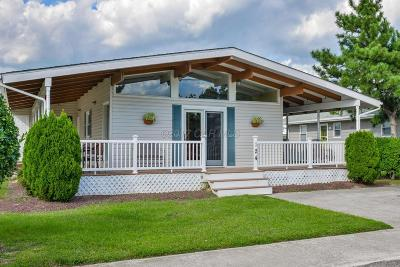 Ocean City Single Family Home For Sale: 124 Old Landing Rd