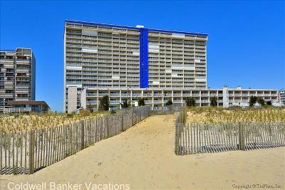 Ocean City Condo/Townhouse For Sale: 11700 Coastal Hwy #T710