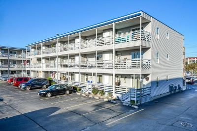 Ocean City Condo/Townhouse For Sale: 3701 Coastal Hwy #A 104