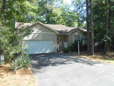Ocean Pines Single Family Home For Sale: 3 Knight Terrace