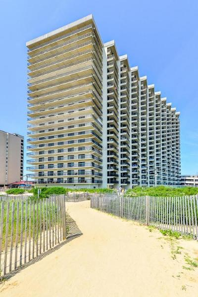 Ocean City Condo/Townhouse For Sale: 11500 Coastal Hwy #812
