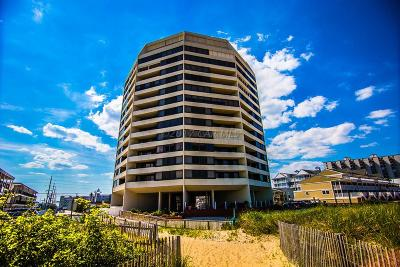 Ocean City Condo/Townhouse For Sale: 8500 Coastal Hwy #701