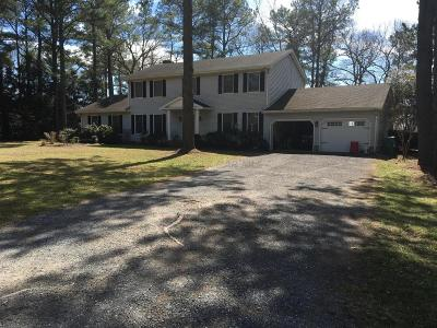 Bishopville Single Family Home For Sale: 10648 Piney Island Dr