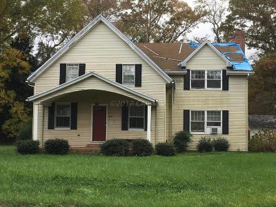Berlin Single Family Home For Sale: 10507 Friendship Rd