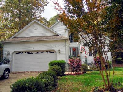 Ocean Pines Single Family Home For Sale: 32 King Richard Rd