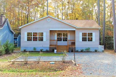 Ocean Pines Single Family Home For Sale: 1166 Ocean Pkwy